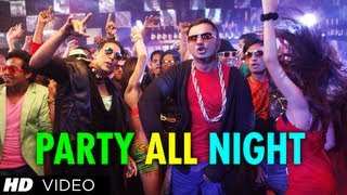 Party All Night - Honey Singh - Latest Video Song - Boss