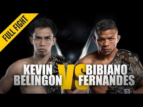 ONE: Full Fight | Kevin Belingon Vs. Bibiano Fernandes | Undisputed Champion | November 2018