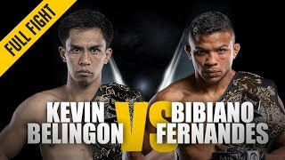 Video ONE: Full Fight | Kevin Belingon vs. Bibiano Fernandes | Undisputed Champion | November 2018 MP3, 3GP, MP4, WEBM, AVI, FLV November 2018