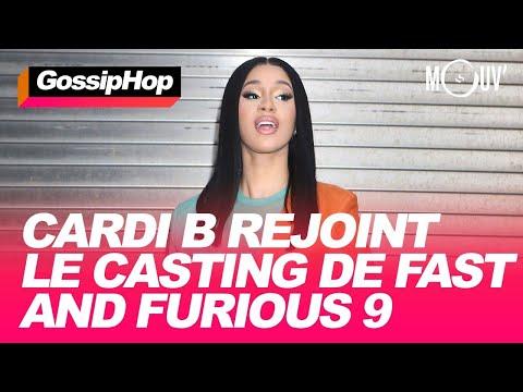 Cardi B rejoint le casting de Fast and Furious 9