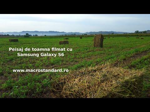 Peisaj de toamna filmat cu Samsung Galaxy S6