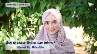 Make Up Kebule-Bulean atau Natural, Kamu Suka yang Mana?