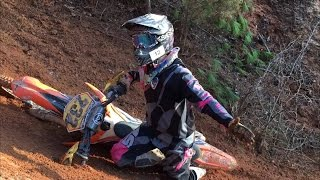 8. KTM 300XCW Just Can't Handle Hillclimbing