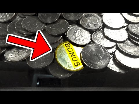 I WON THIS BONUS COIN FROM AN ARCADE COIN PUSHER! | MATT3756