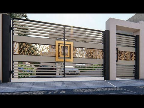 100 Modern gates designs ideas 2020 (Decor Puzzle)