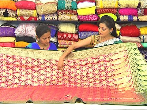 Latest Collection of Bridal Wear Kanchi Pattu Sarees | Sogasu Chuda Tarama 27 June 2015 01 49 PM