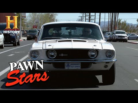 Pawn Stars: Rick Won't Negotiate On A 1967 Shelby G.t. 350 (season 10) | History