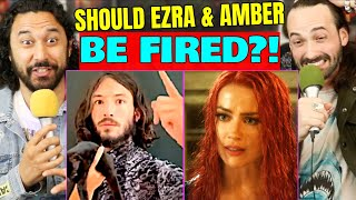 Ezra Miller & Amber Heard | SHOULD THE DCEU / WB FIRE Or RECAST THEM?! by The Reel Rejects