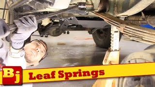 5. How To Install New Leaf Springs - Rough Country