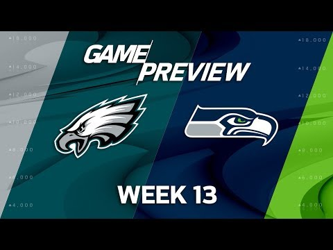 Video: Philadelphia Eagles vs. Seattle Seahawks | NFL Week 13 Game Preview | Move the Sticks
