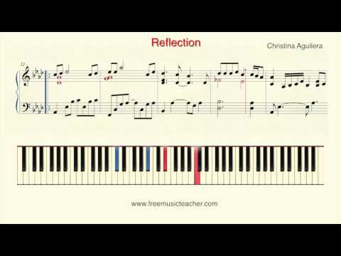 Reflection - Christina Aguilera video tutorial preview