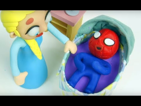ELSA, SPIDERMAN AND THE POWER OF A FEDDING BOTTLE!! 💕 Superhero Babies
