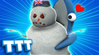 SAVE THE SNOWMAN! | Gmod TTT