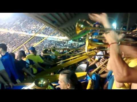 La hinchada de Boca ataja el penal Boca-atl raf - La 12 - Boca Juniors
