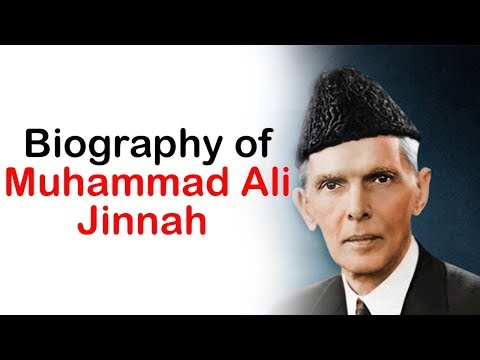Biography of Muhammad Ali Jinnah, Founder and first governor general of Pakistan