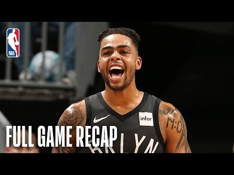 Video: NETS vs HORNETS | D'Angelo Russell Scores 40 On His Birthday | February 23, 2019