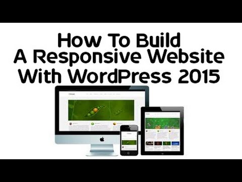 how to create a wordpress website