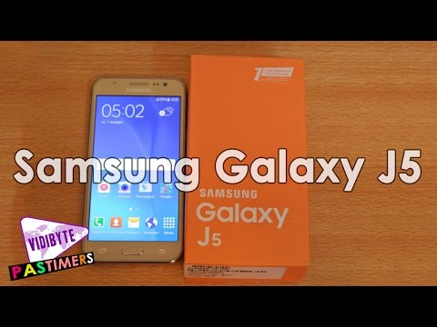 Samsung Galaxy J5 2016 with 5.2 Inch HD Display, 2GB RAM Spotted || Pastimers