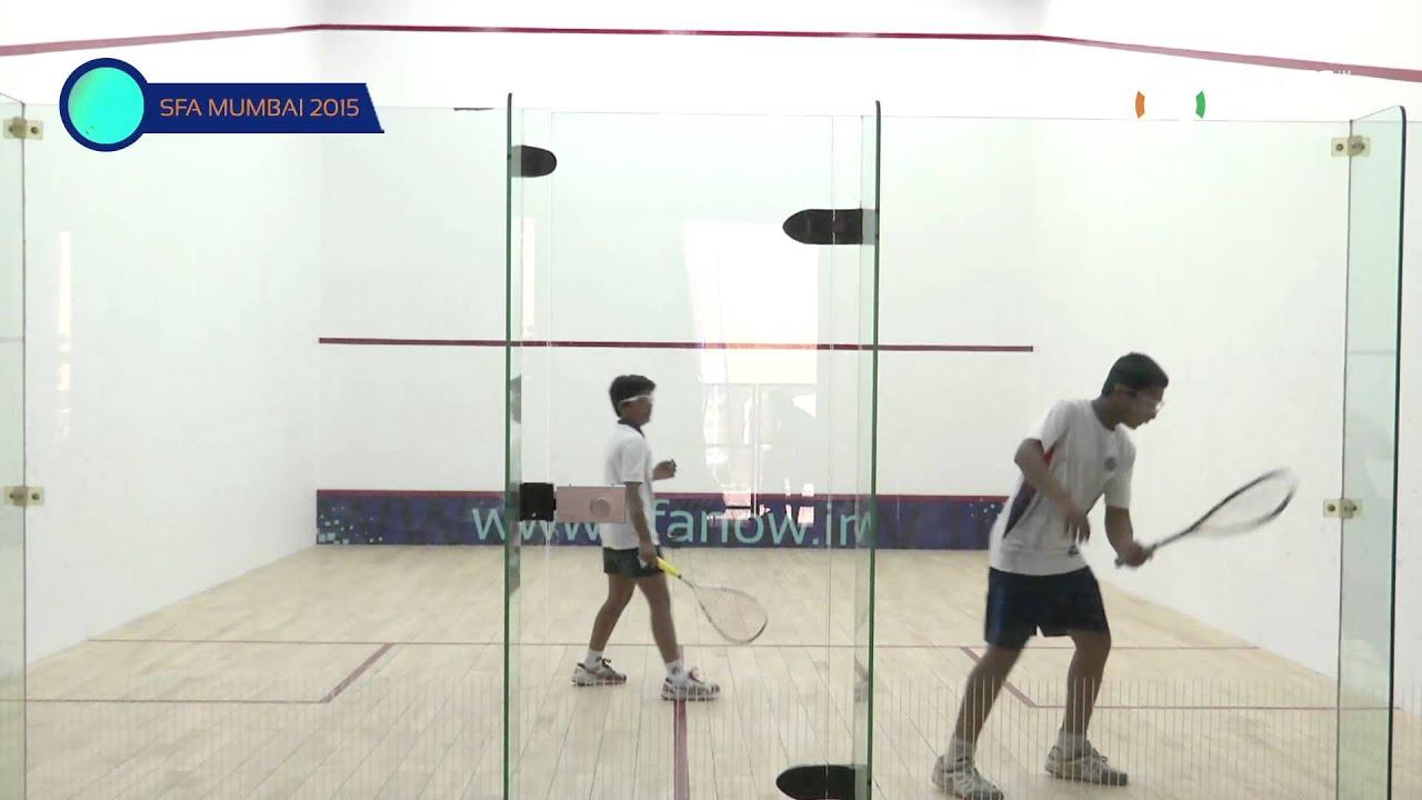 SFA Mumbai 2015 | Squash | Aakash Gupta Vs Paarth Ambaani | U13 | Boys | S/F