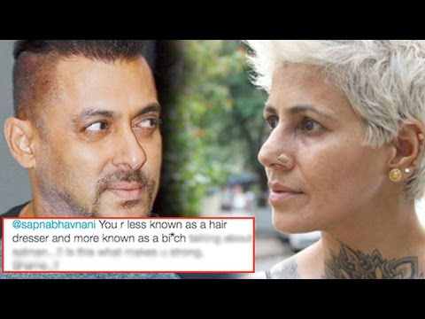 Omg! Sapna Bhavnani ABUSES Salman Khan And HOW!