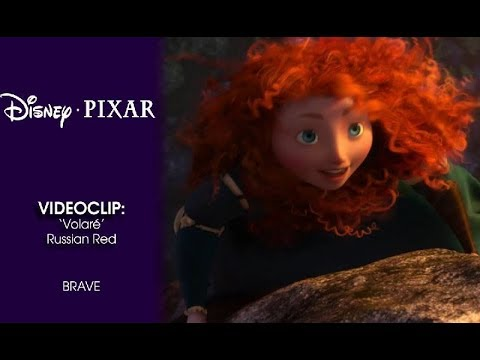 Brave (Indomable): Videoclip con Russian Red | Disney · Pixar Oficial