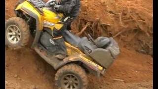 8. CAN-AM OUTLANDER MAX 800 XT IN SAND RENEGADE 800