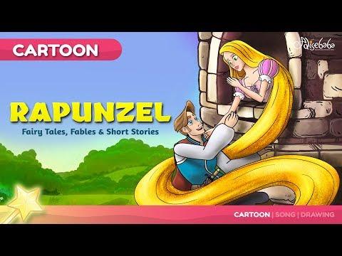 Rapunzel 🧚♀️ Bedtime Stories for Kids | Princess Story | Fairy Tales 🧚♀️
