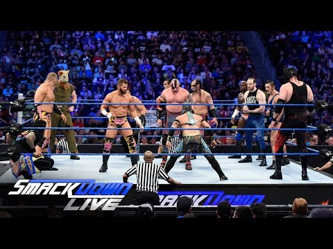 WWE World Title No. 1 Contender's Six-Pack Qualifying Battle Royal: SmackDown Live, July 26, 2016