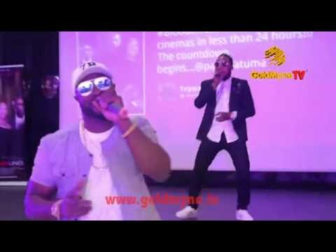 WATCH HARRYSONG AND KCEE'S PERFORMANCE AT PREMIERE, #BLOODLINESTHEMOVIE