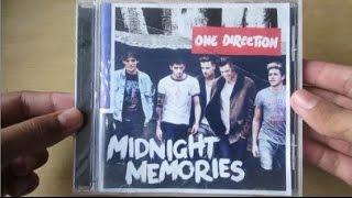 Midnight Memories - One Direction - Unboxing CD en Español