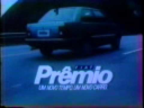 Comercial de TV Lançamento Fiat Prêmio CS 1985