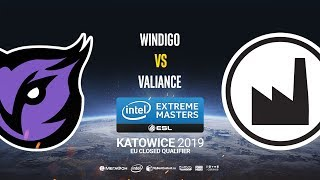 Windigo vs Valiance - IEM Katowice EU Minor QA - map2 - de_dust2 [Gromjkee]
