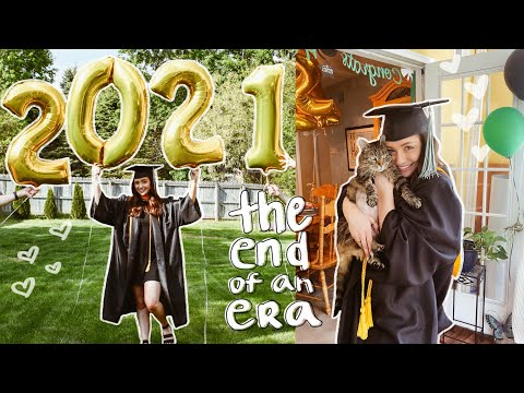COLLEGE GRADUATION VLOG 2021: The end of an era & the start of a new one.