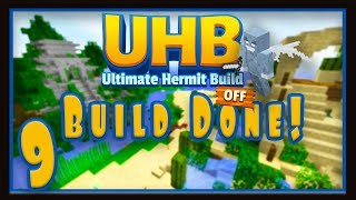 Minecraft UHB Challenge Ep 9: The Ultimate Hermitcraft Build Off (Build Done!)