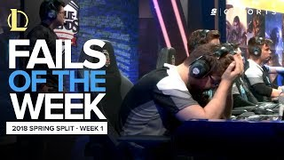 Video Best LoL Fails from Week 1 of the 2018 Spring Split (LoL) MP3, 3GP, MP4, WEBM, AVI, FLV Agustus 2018