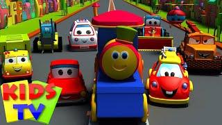 Transport Adventure | Transport Train for kids | Kids train | Bob the Train | Songs for kids
