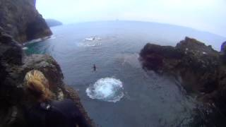 Saint Agnes United Kingdom  city pictures gallery : Evening Cliff Jumping Session in St Agnes, UK
