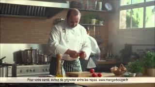 Publicité Marmite de bouillon boeuf