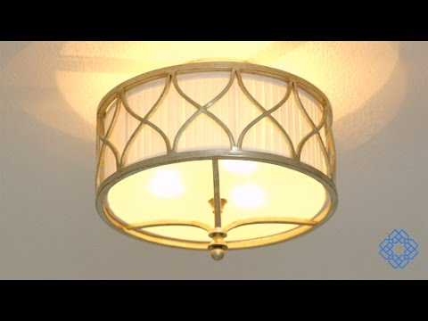 Video for Fifth Avenue Winter Gold Three-Light Semi-Flush
