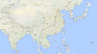 2015 Driving from China to Thailand – Part 1: Beijing to Linying