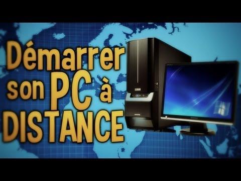 comment demarrer pc a distance