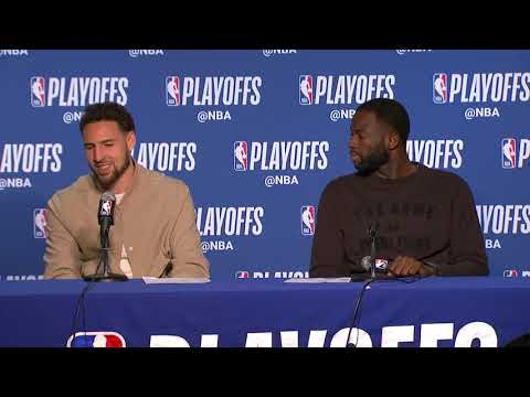 Klay Thompson & Draymond Green Press Conference | Rockets vs Warriors Game 5