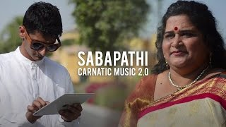 "Carnatic Music 2.0 - Sabapathiku Vera Deivam (feat. Leela Salivati)Get it on iTunes - http://itunes.apple.com/album/id1087099294?ls=1&app=itunesGet it on Amazon - https://amzn.com/B01C4S64QOGet it on Bandcamp - https://mahesh-raghvan.bandcamp.com/releasesSabapathiku Vera Deivam is a Carnatic Composition, written by the Tamil Poet Gopalakrishna Bharati (1810–1896), in Abogi Raagam. This version is rendered by the highly talented Dubai based vocalist - Leela Salivati. This musical fusion is an attempt to present Carnatic Music in a contemporary fashion, that would be appealing to young and modern audiences.Social Media Links:SPR Productions: http://www.facebook.com/SPRProductionsMahesh Raghvan: http://www.facebook.com/followingmaheshCredits:Vocals: Leela SalivatiMusic: Mahesh RaghvanVideo: Rohit IyengarApp: GeoSynthesizerFAQ:A. Who is Leela Salivati?Leela Salivati, describes herself as a ""Mother, Devotee and Singer"". She is based out of Dubai, and carries out a lot of philanthropic work with the Art of Living Foundation. She is a classical trained singer, and can sing in various styles and languages with ease.B - How was the video produced?The video was shot and edited by Rohit Iyengar, a young multi-talented film maker based in California. He runs a YouTube channel named SPRProductionsYT and more information about him and his works can be found on his website - http://rohitiyengar.com/C - What is that app you're using?— It's called Geo Synthesizer - For more information visit http://www.wizdommusic.com/products/g... D - What is FLAIR?— FLAIR is a YouTube project that aims at creating short pieces of electronic music based on Indian Classical melodies. The objective of this project is to provide a fresh new take on Carnatic music by mixing it with elements of Electronic Dance Music. E - What else do you do?— I make music, music software, videos, artwork, websites, applications and lots more. Visit www.maheshraghvan.com to check out my work.F - I'm a professional musician/singer/visual artist. I want to collaborate!— Amazing! Me too! Get in touch. I look forward to working with you."