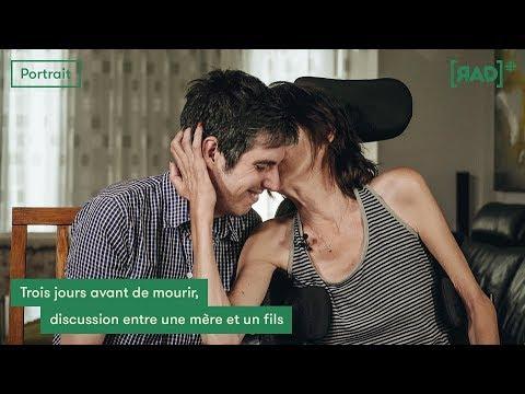 [AIDE MÉDICALE À MOURIR] Trois jours avant de mourir, discussion entre une mère et un fils (видео)