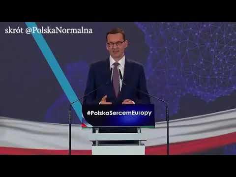 """Morawiecki: """"Chcemy żeby ludzie wracali z Wielkiej Brytanii, z Niemiec, z Anglii, z Irlandii, z Francji, z rozbitych rodzin….."""""""
