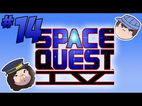 Space Quest IV: Tunnel of Love - PART 14 - Steam Train