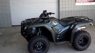 4. 2014 Rancher 420 Power Steering 4x4 ATV SALE at Honda of Chattanooga TN / TRX420FM2E
