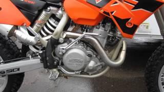 2. 2005 KTM 525 SMR Supermoto