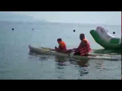 Покатушки на каяке. Вьетнам Нячанг - DomaVideo.Ru