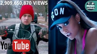 Video ALL Music Videos With +1 BILLION VIEWS on YouTube MP3, 3GP, MP4, WEBM, AVI, FLV September 2017